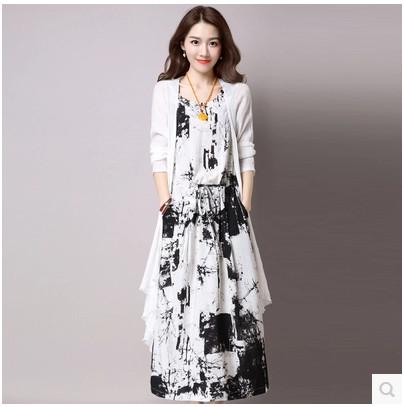 8af0fb4712f Стилна дълга лятна рокля в 2 разцветки - Badu.bg - Светът в ръцете ти