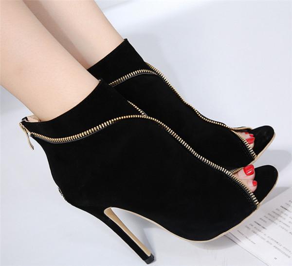 411a0b644fc badu.gr - Γυναικεία ψηλά παπούτσια με ψηλά τακούνια με κάλυμμα σουέτ