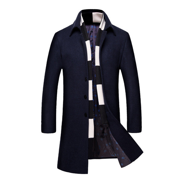 1b48f6e856f badu.gr - Μακρύ ζεστό ανδρικό παλτό , κατάλληλο για κάθε περίσταση