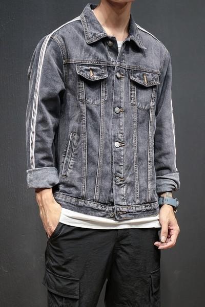 Απλό μπουφάν τζιν με τσέπες και κομψό γιακά - Badu.gr Ο κόσμος στα χέρια σου 4f27c203f42