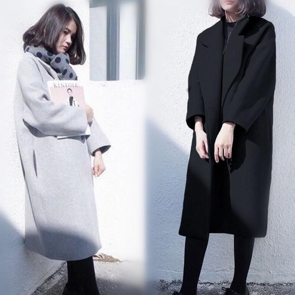 Κομψό μάλλινο παλτό σε δύο χρώματα - Badu.gr Ο κόσμος στα χέρια σου d9fd04b72be