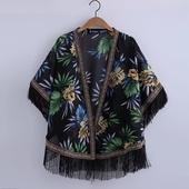 Страхотен дамски шарен шал