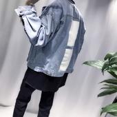 Много стилно мъжко дънково яке в два цвята