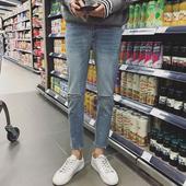 Много стилни мъжки дънкови панталони