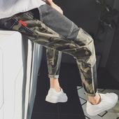 Страхотни ежедневни мъжки панталони с камофлажни елементи