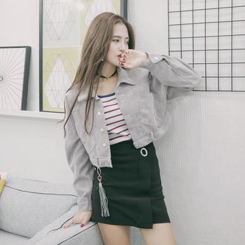 Изключително стилно дамско дънково сако в три цвята