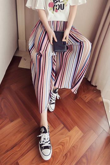 Страхотни дамски широки шарени панталони подходящи за горещите летни дни