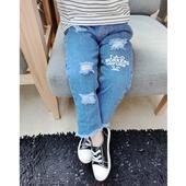 Страхотни дънкови панталони подходящи както за момченце така и за момиченце