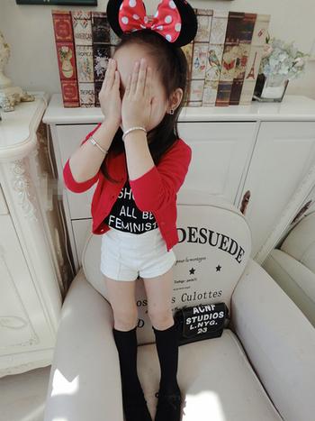 Ежедневен къс панталон за момиченце в четири различни цвята