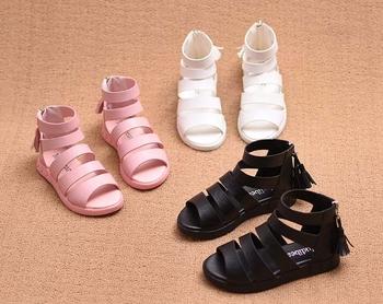 Страхотни детски сандалки в три цвята