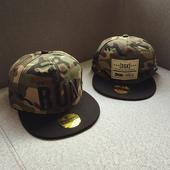 Камуфлажна хип-хоп унисекс шапка