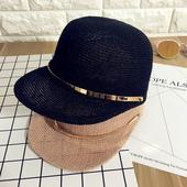 Страхотна плетена дишаща дамска шапка в 4 цвята