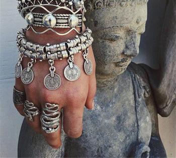 Ориенталска дамска гривна за ръката и глезена