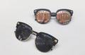 Много модерни унисекс очила с UV-защитни стъкла