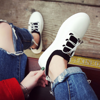 Оригинални дамски ежедневни обувки с ластици вместо връзки