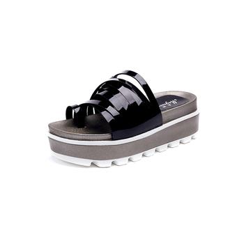Ежедневни дамски чехли с висока платформа в няколко цвята