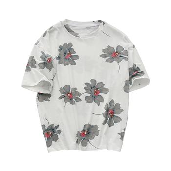 c5d5625ce197 πουκάμισο Πολύχρωμο άνδρες με κοντά μανίκια και λουλούδια - Badu.gr ...