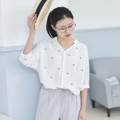 Небрежна тънка дамска риза за пролетта и лятото