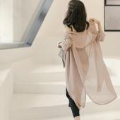 Страхотна дамска риза-тип жилетка от шифон в три различни цвята