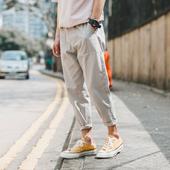 Страхотен ежедневен мъжки панталон с крачол тип 7/8 - няколко цвята