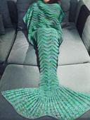 Топло одеяло във формата на русалка за студени нощи