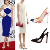 Стилни дамски обувки на висок ток в няколко разцветки