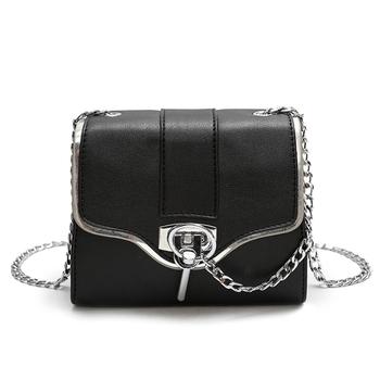790edee970 Κομψή τσάντα με αλυσίδες ασήμι - Badu.gr Ο κόσμος στα χέρια σου