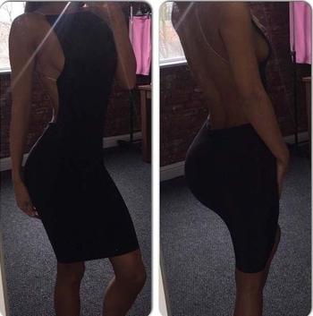 Μαύρες γυμνές κυρίες