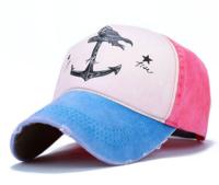 Много свежа шаренка дамска шапка с козирка - 4 модела