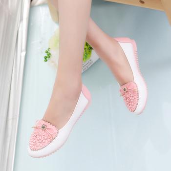 Ежедневни дамски много удобни обувкички с лъскави камъчета - 3 цвята