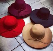 Много красиви дамски слънцезащитни шапки - 6 цвята