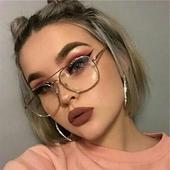 Стилни дамски очила с интересна форма на стъклата - няколко модела