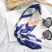 Сладка сатенена и цветна панделка за главата