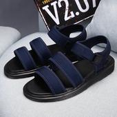 Стилни сандали в червен, син и черен цвят - унисекс