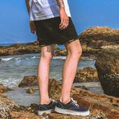Мъжки ежедневни къси панталони в черен, син и сив цвят