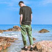 Ежедневни мъжки панталони в широк стил в три цвята
