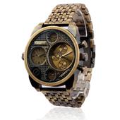 Много елегантен мъжки часовник с голям циферблат - 4 модела