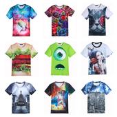 Много интересни мъжки 3D тениски с къс ръкав - 10 модела