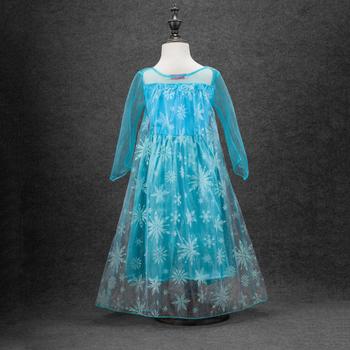 5159ea45fdc8 Πολύ ενδιαφέρουσα και όμορφη μοντέλο φόρεμα Έλσα ταινία «Frozen ...