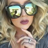Много интересни и стилни дамски слънчеви очила с квадратни стъкла - 6 цвята