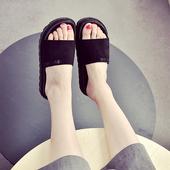 Ежедневни дамски чехли в два модела - в черен, червен и зелен цвят