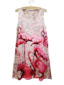 Дамска къса шарена рокличка - подходяща за всеки повод