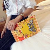 Дамски интересни 3D цветни чанти