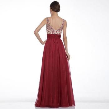Уникална и много стилна дамска вечерна дълга рокля
