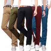 Много удобни мъжки всекидневни панталони - 5 цвята