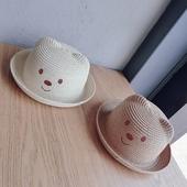 Сладка детска шапка за момичета и момчета в два цвята