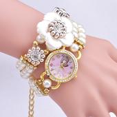 Модерен ръчно изработен дамски часовник-гривна