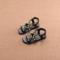 Детски сандали за момичета, подходящи за ежедневие с мъниста