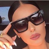Уникални дамски слънчеви очила с UV защита - 9 цвята