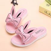 Сладък модел детски чехли за момичета в четири цвята